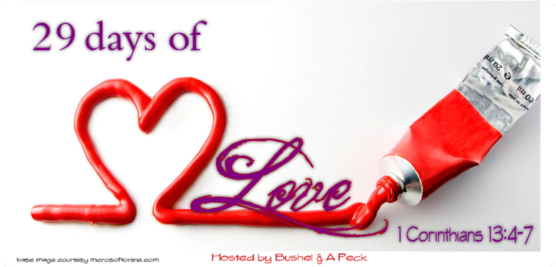29 Days of Love - base writing