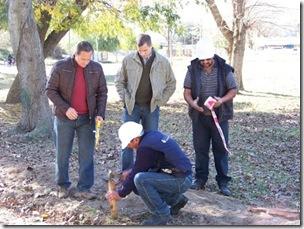 La Unidad de Gestión Municipal de Costa del Este realiza tareas en el barrio La Reserva