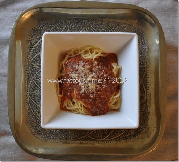 وصفة صلصة المارينارا من www.fattoush.me
