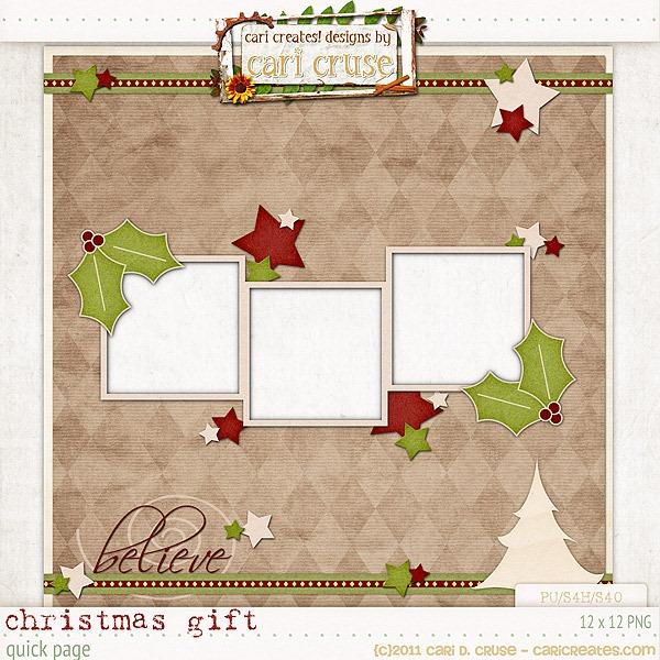 Christmas gift negle Gallery