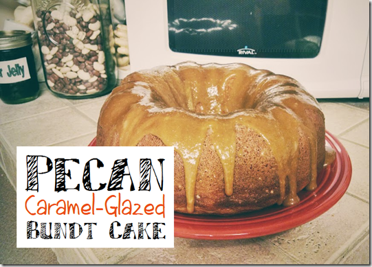 Pecan Caramel Glazed Bundt Cake Img
