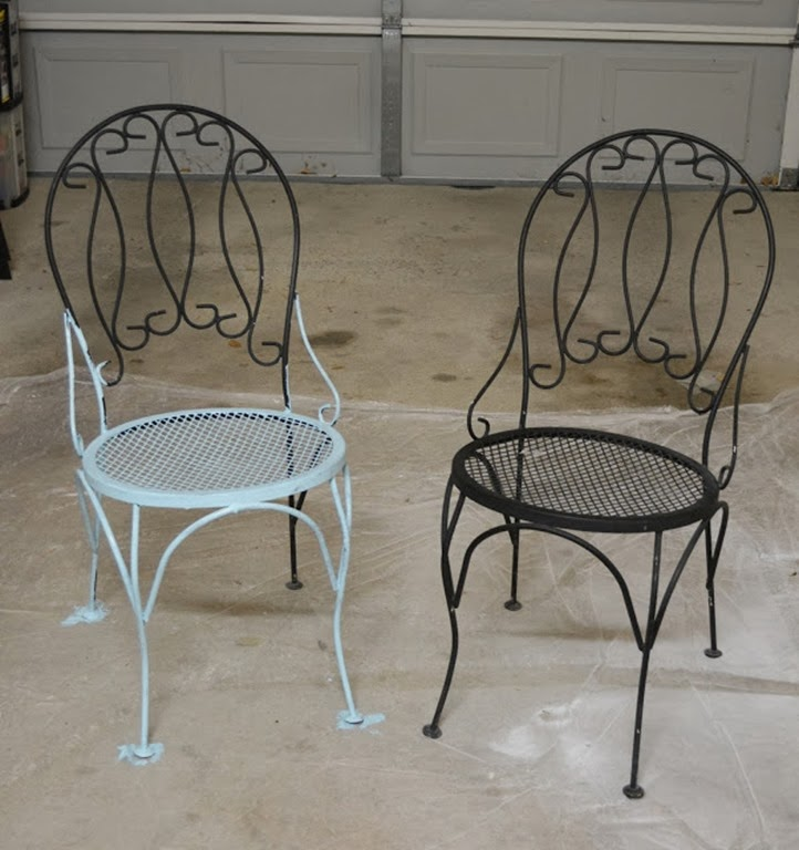 Chairs changing from drab to fab