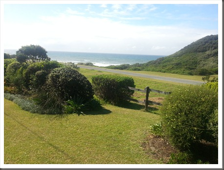 Cottage 51 - Kayser's Beach, Eastern Cape - Sea View from the Garden