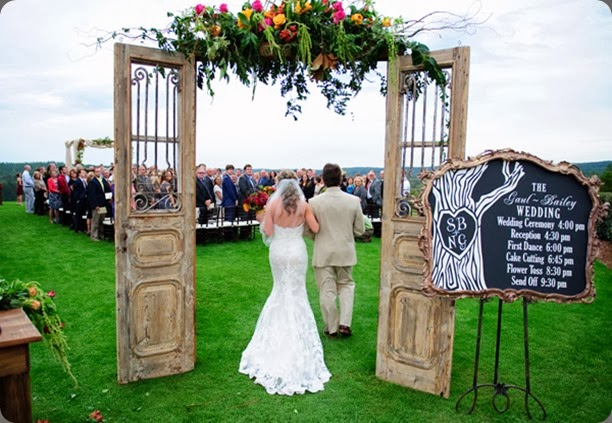 aisle header southern-wedding-outdoor-chapel2 sara parker photo and  Karin Jeffcoate of Cote Design Events