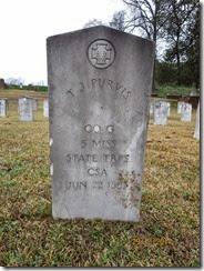 T. J. Purvis Tombstone bu CLP