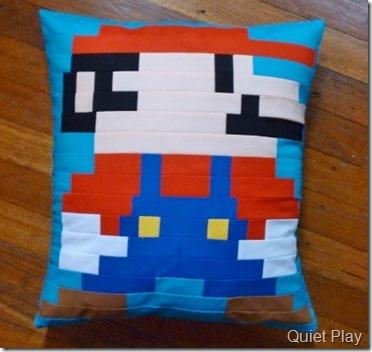 Mario cushion 2