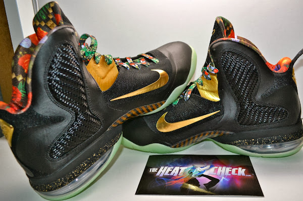 LEBRON 9 8220Watch the Throne8221 Alternate Version Glows in the Dark