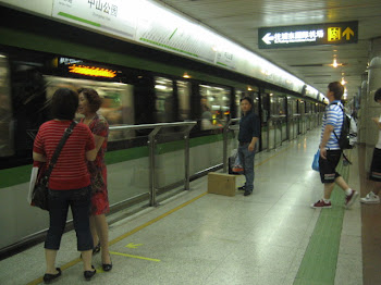 Shanghai Metro System (Photo by Heather Diaz)