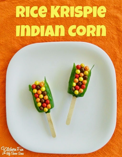 Thanksgiving-Rice-Krispies-Treats-Indian-Corn