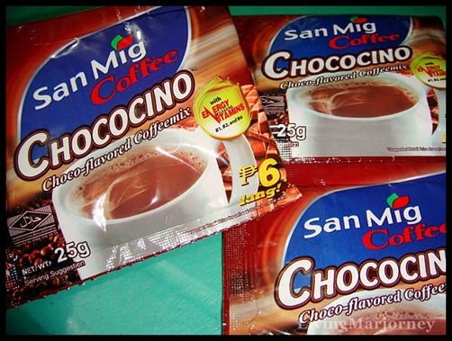 San Mig Coffee Chococino in 25g sachets