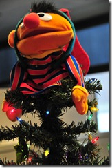 """Sesame Street's"" Ernie tops a tree in Education & Outreach."