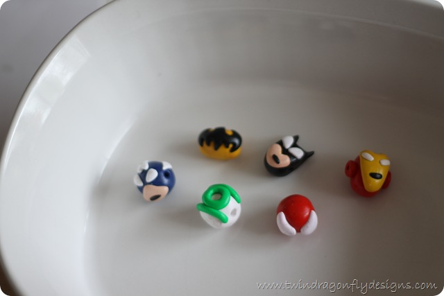 super hero necklace beads