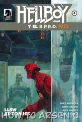 Actualización 29/03/2015: Hellboy and BPRD 1952 - Zur y John Kent nos traen el numero 04.