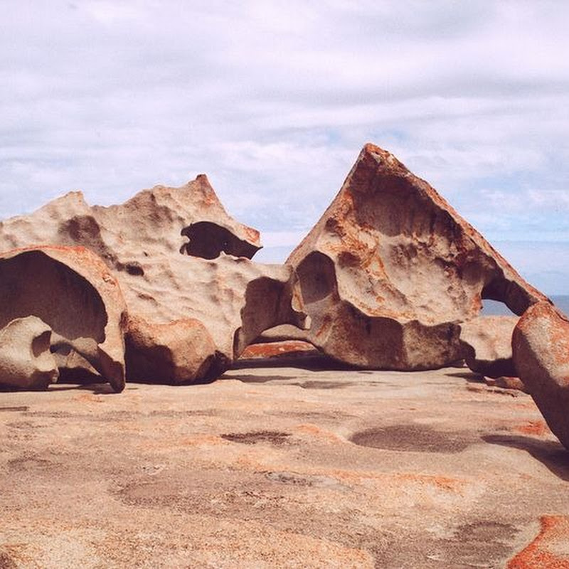 The Remarkable Rocks at Flinders Chase National Park, Australia