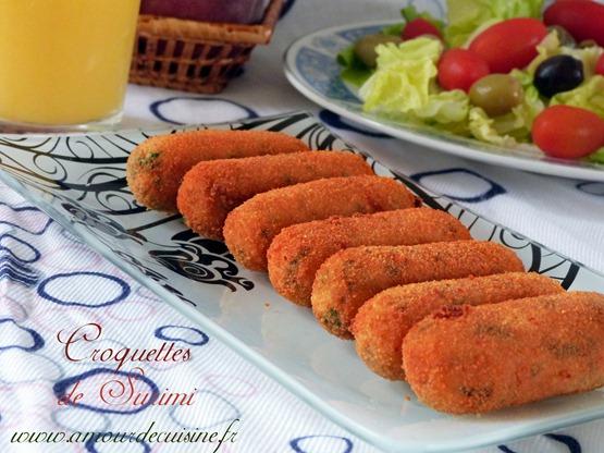 croquettes au surimi, recettes du ramadan