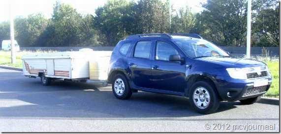 Dacia Duster met plooiwagen 01