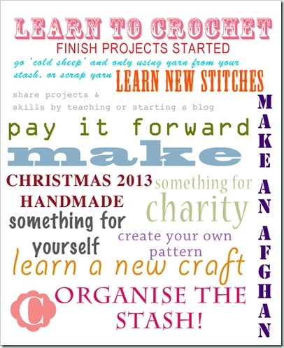 2013 resolutions