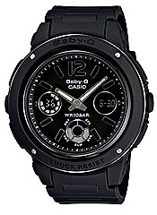 CASIO 2012 Baby-G BGA-150A  watches black white resin shock water resistance 100m WATCHES FOR SPRING SUMMER SEASON Casio G-Factory stores authorised dealers
