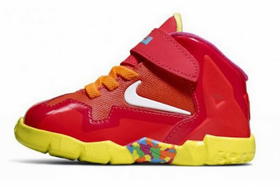 nike lebron 11 gs fruity pebbles 4 02 Kids Nike LeBron XI GS Laser Crimson Collection Available Now