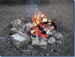 5101 Laurel Creek Conservation Area  - fire