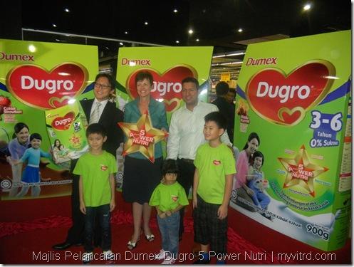 Majlis Pelancaran Dumex Dugro 5 Power Nutri 6