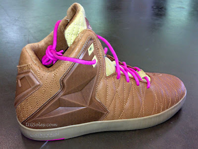 nike lebron 11 nsw sportswear lifestyle brown 1 01 First Images // Nike LeBron XI NSW Lifestyle Brown & Pink