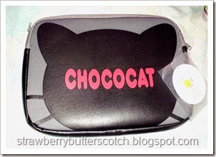 chococat laptop sleeve back