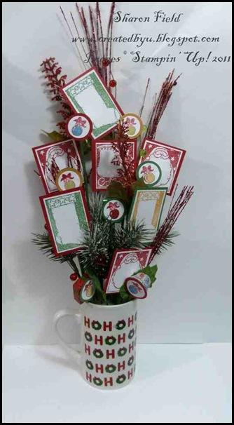 3. Retired Stamp Set Flower Arrangement By SHaron_Field