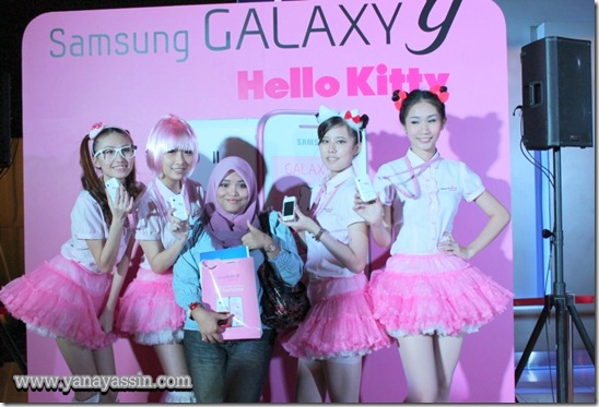 Samsung Galaxy Y Hello Kitty  179