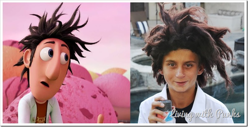 Costume DIY: Cloudy with a Chance of Meatballs' Flint Lockwood