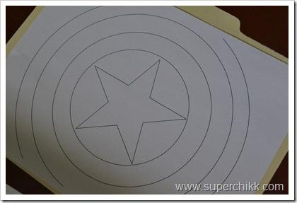 Captain America Shield Template Print A Design