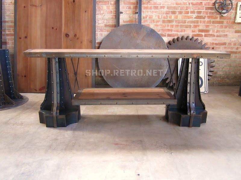 Console Tables Vintage Industrial Furniture