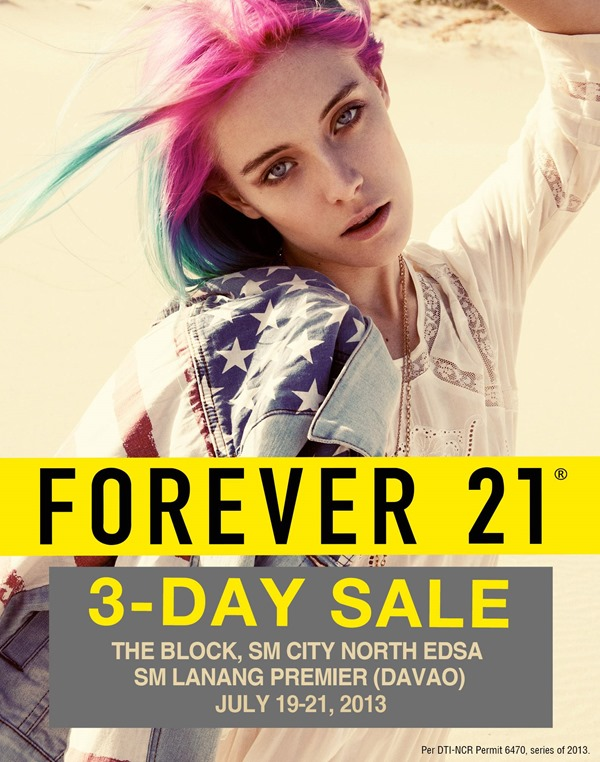 EDnything_Forever 21 3-Day Sale July 2013