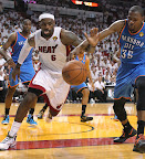 lebron james nba 120621 mia vs okc 015 game 5 chapmions Gallery: LeBron James Triple Double Carries Heat to NBA Title
