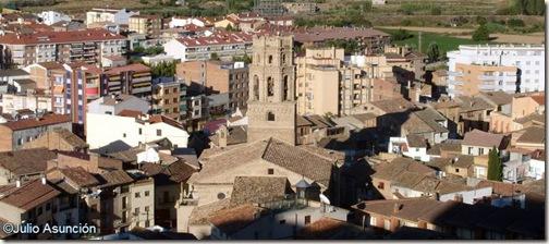 Vista de Monzón desde el Castillo - Huesca