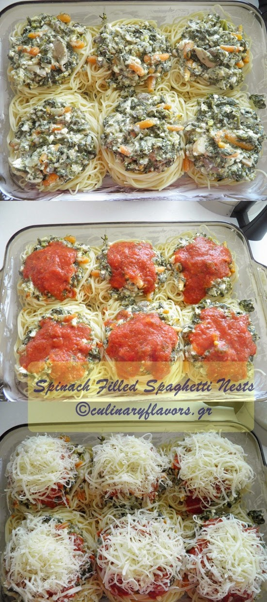 Spaghetti Nests with Spinach.JPG