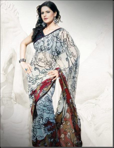Zarine Khan Latest Saree Photoshoot 8