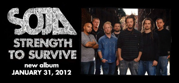 novo cd do SOJA Strength To Survive  2012