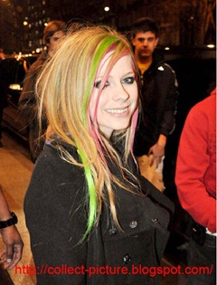 avril hairstyles
