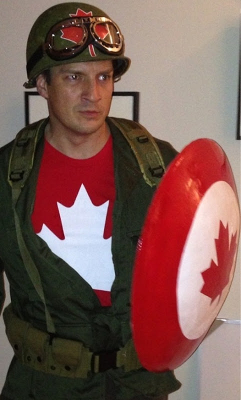 Nathan Fillion is Captain Canada