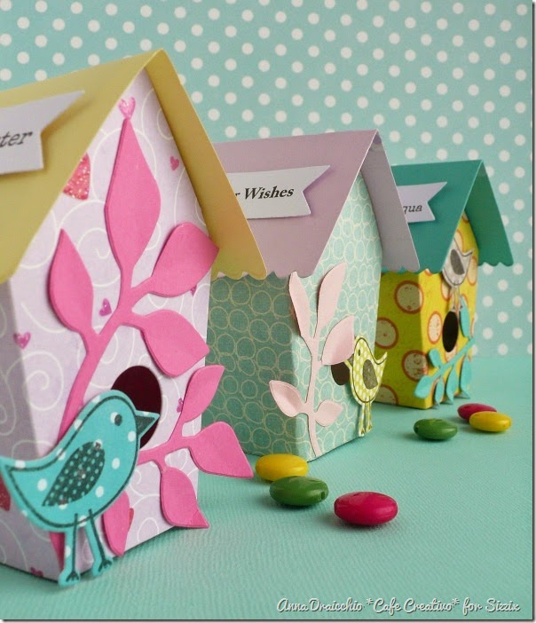 cafe creativo - big shot - easter box birdhouse - pasqua (3)