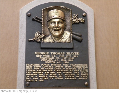 'Tom Seaver Hall of Fame Plaque' photo (c) 2009, slgckgc - license: http://creativecommons.org/licenses/by/2.0/