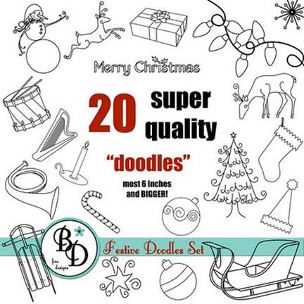 BDERK_Christmas-Doodles