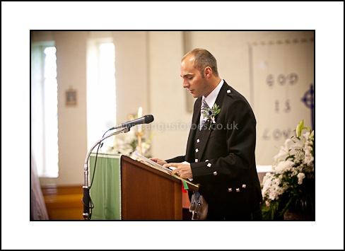 speaker at scottish wedding dundee