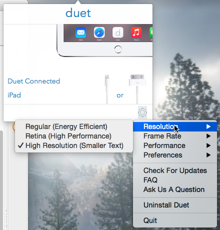 DuetDisplay Resolution Choices 1 7 2015