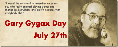 Gary Gygax Birthday