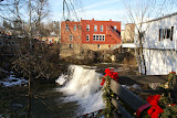 """Chagrin Falls in Winter"" - copyright Tim Pawlak"