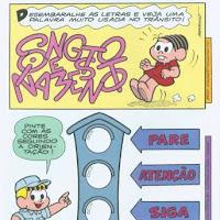 Coleção Saiba Mais com a Turma da Mônica - Sobre o Trânsito (20).JPG
