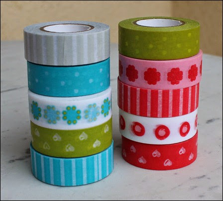 Filofax Washi Tape Set 6