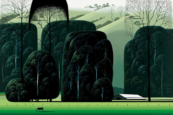 Illustration by Eyvind Earle